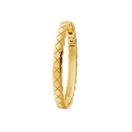 """COCO CRUSH ""手環18K黃金。建議售價NTD 209,000元"