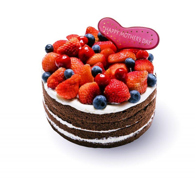 黑巧克力莓果