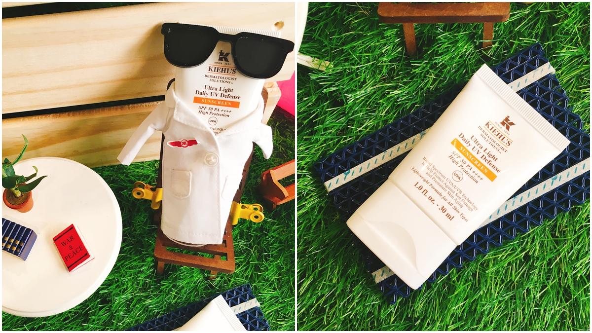 一上市就擠進TOP 10熱銷排行榜!沒特別宣傳也賣翻的Kiehl's 集高效清爽UV防護乳