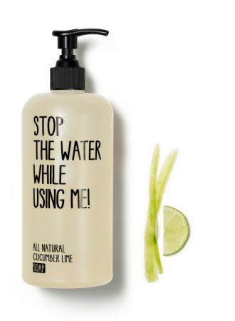 Stop the water while using me!小黃瓜青檸液體皂,200 ml ,NT$650