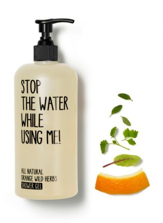 Stop the water while using me!柑橘野生香草沐浴露,200 ml ,NT$750