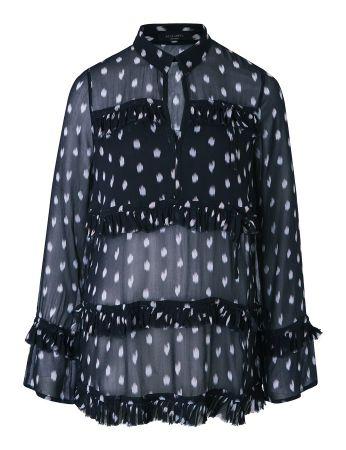 Deirdre 印花洋裝 (黑) 定價8900
