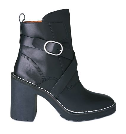Aiko 粗跟短靴 定價14900