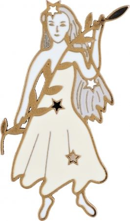 My Lady Dior Star處女座幸運徽章