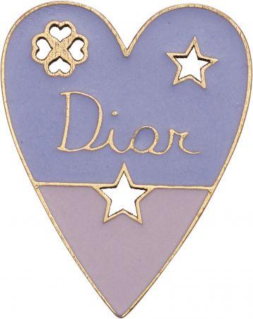 My Lady Dior Star愛心幸運徽章