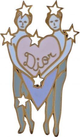 My Lady Dior Star雙子座幸運徽章