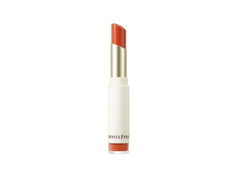 innisfree超服貼絲絨唇膏(4號柑橘橙色)3.5g,NT470