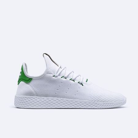 adidas Originals by Pharrell Williams Tennis Hu(white, green) NTD5,290 _BA7828-1