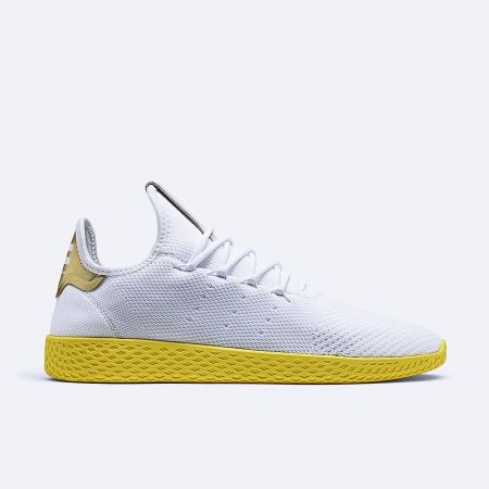 adidas Originals by Pharrell Williams Tennis Hu(white, yellow, metallic gold) NTD5,290 _BY2674-1