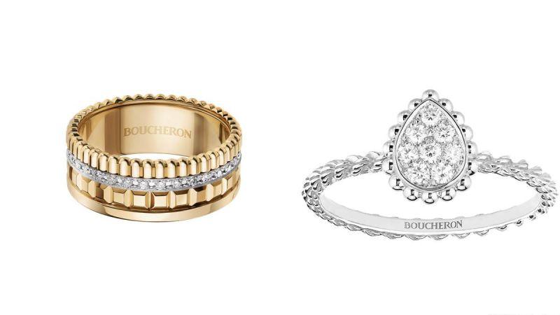 日常上班呢,Melody建議Serpent Boheme系列珠寶,造型小巧價格也更容易入手,水滴輪廓也很別緻。