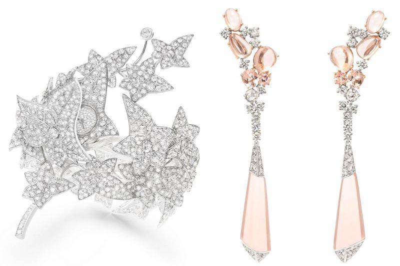如果有正式場合,何妨選擇一件statement pieces,尤其是長形大型耳環,或是這次來台灣展出的常春藤系列神祕手環腕錶,只要簡單搭上小黑洋裝,既有正式感又很亮麗!