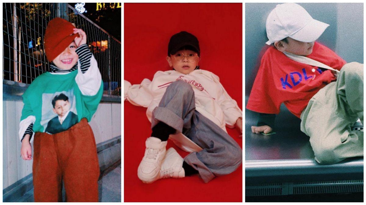 潮到淹水!高難度穿搭、擺Pose皆完美消化的4歲男孩YoYo,真的又萌又酷!