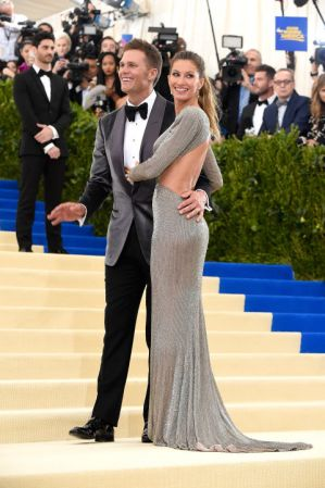 Tom Brady and Gisele BündchenBündchen in Stella McCartney