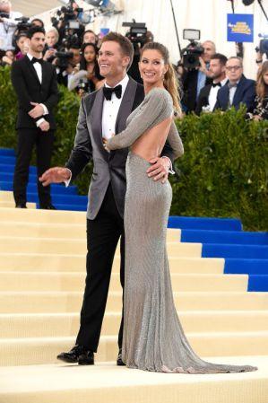 Tom Brady and Gisele BündchenBündchenin Stella McCartney