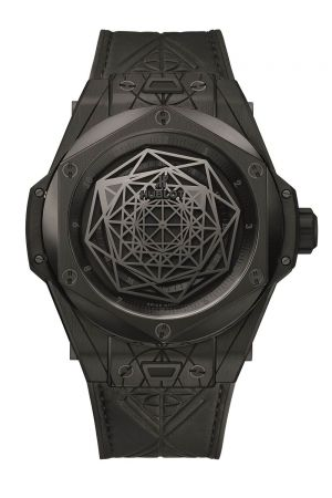 HUBLOT Big Bang Unico All Black Sang Bleu腕錶,建議售價NT$651,000