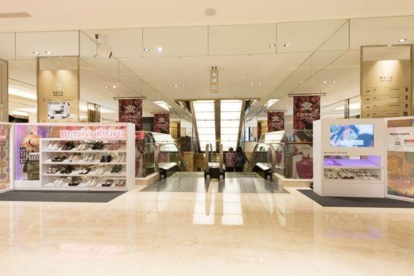 鞋控小天堂的微風信義店,「潮流可愛」主題夢幻衣帽間也是拍照小天堂!