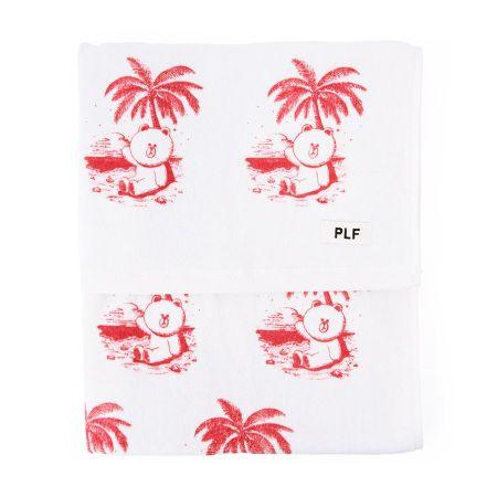 海灘巾(紅)$1,380