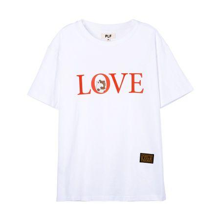 LOVE字母短袖T-shirt(白)$1,280
