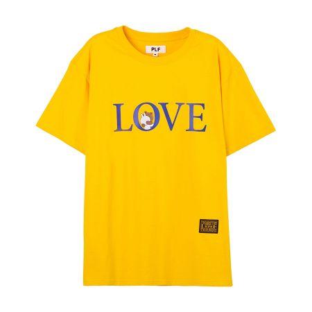 LOVE字母短袖T-shirt(橘)$1,280