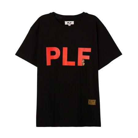 字母短袖T-shirt(黑)$1,280