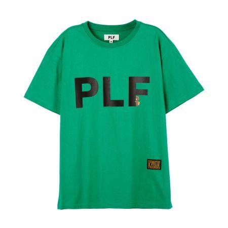 字母短袖T-shirt(綠)$1,280