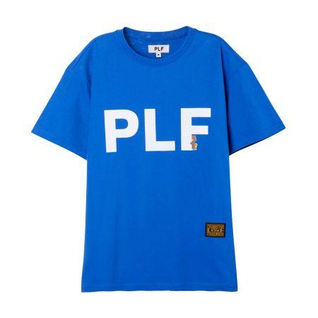 字母短袖T-shirt(藍)$1,280