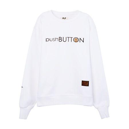 長袖棉衫(pushBUTTON)_ 白$2,780