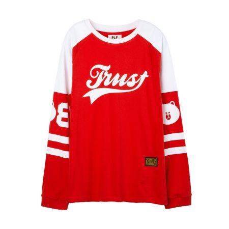 棒球長T-shirt(紅)$2,080