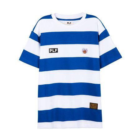圓領橫條短袖T-shirt(海軍藍)$1,680