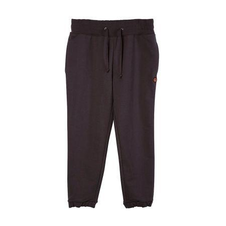 運動休閒抽繩棉褲(黑)$2,180