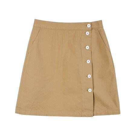 學院風短裙(卡其)$2,480