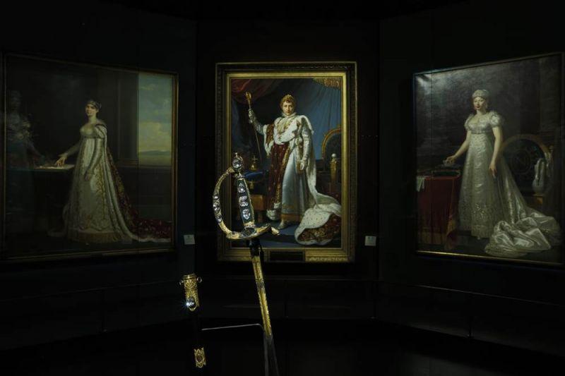 加冕之劍首次離開法國展覽 活動現場與拿破崙、約瑟芬皇后、瑪莉路易皇后共同展出