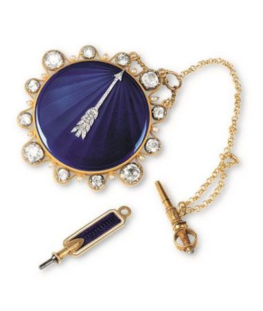 拿破崙之弟傑羅姆波拿巴懷錶,Marie-Etienne Nitot, 阿伯拉罕路易寶璣機芯, 1809 年