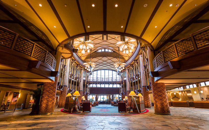 迪士尼探索家度假酒店大廳