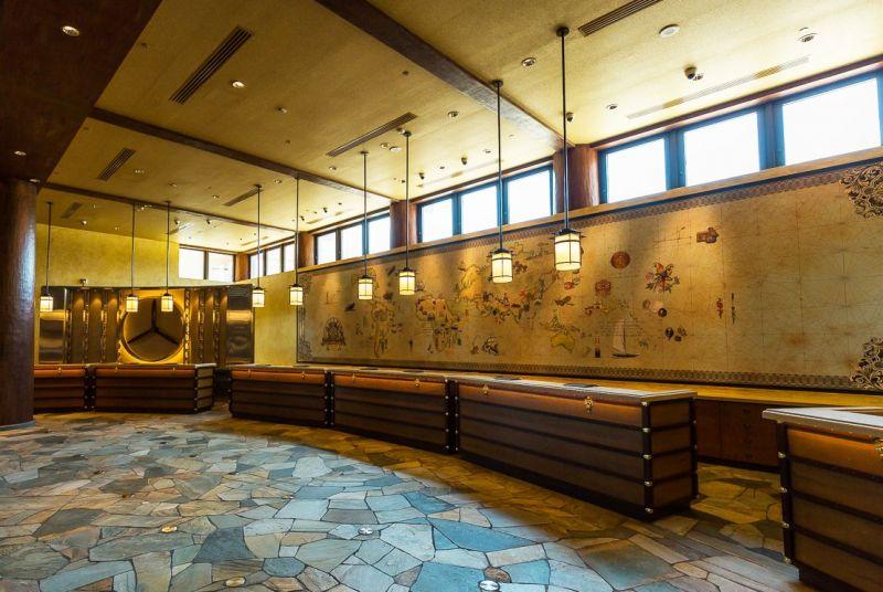 迪士尼探索家度假酒店大廳櫃台