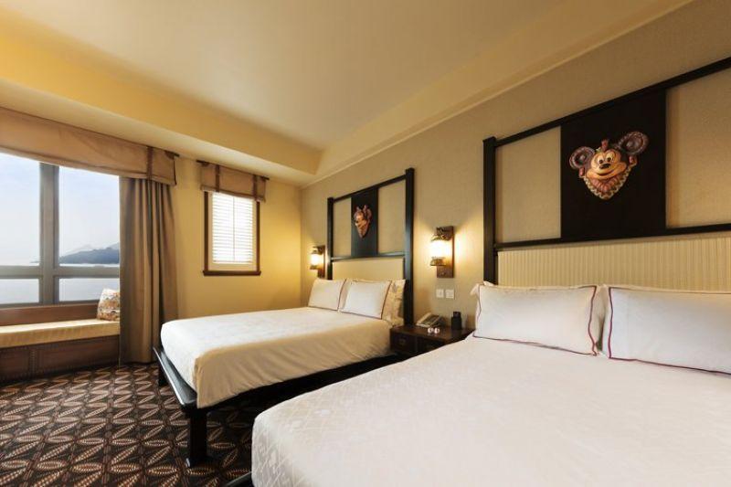 迪士尼探索家度假酒店客房一景