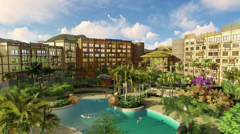 迪士尼探索家度假酒店外觀