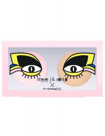 SJYP設計師聯名系列_雙色眼影盤_KeepOnTwinklingSoba_2.8g_$1000