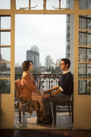 《喜歡你》浪漫夕陽景在上海武康大樓,意外成為影迷打卡朝聖的景點
