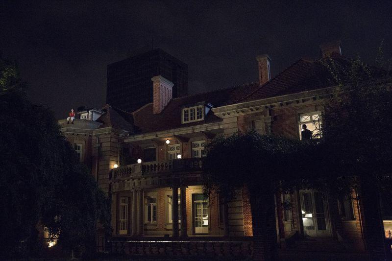 取景瑞金賓館,也是蔣介石與宋美齡訂婚地點