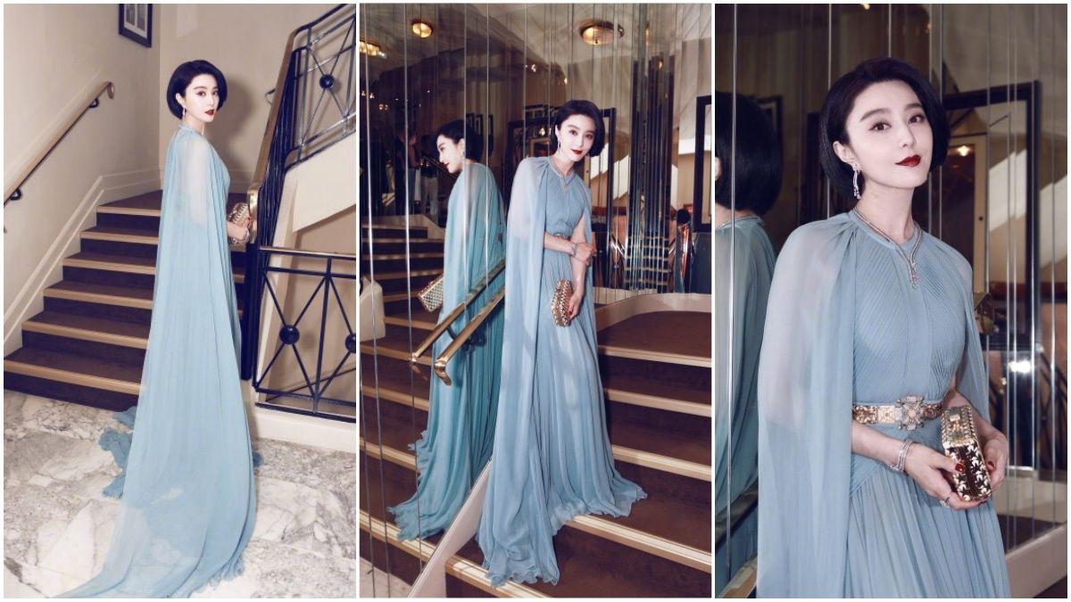 第70屆坎城影展唯一的華人評審!范冰冰驚豔坎城的紅毯造型特輯