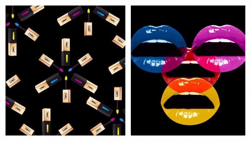 YSL推出了3個色系的調色唇釉,分別是#51、#52、#53,適合搭配其它的唇膏來玩色。