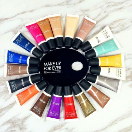 MAKE UP FOR EVER AQUA XL超持久顯色眼彩霜,4.8ml,NT$950(共20色)