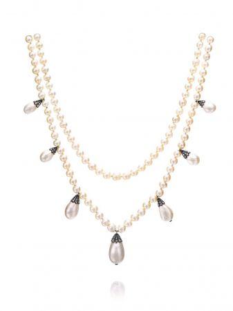 雙排珍珠項鍊,十九世紀早期 Chaumet 藏品