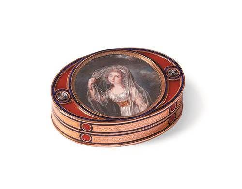 羅溫艾斯汀侯爵夫人的藏珍匣,Marie-Etienne Nitot