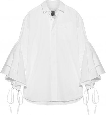 蝴蝶結純棉襯衫,Vika Gazinskaya @ Net-A-Porter,約NT32,735。