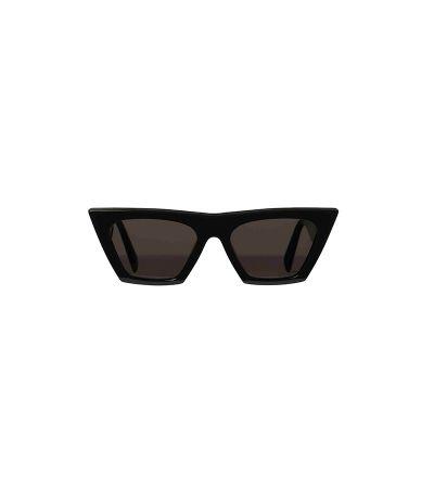 黝黑色膠框太陽眼鏡,CÉLINE。