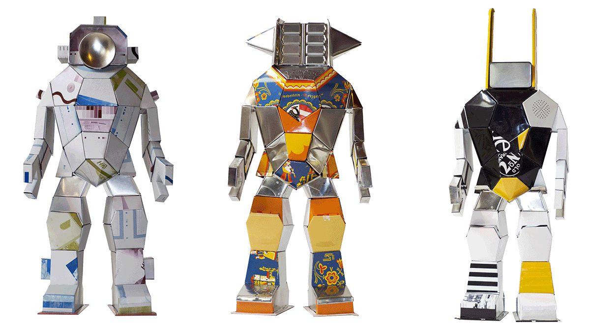 可愛機器人降臨台北!瘋狂藝廊《Hervé Stadelmann機器人創作特展》