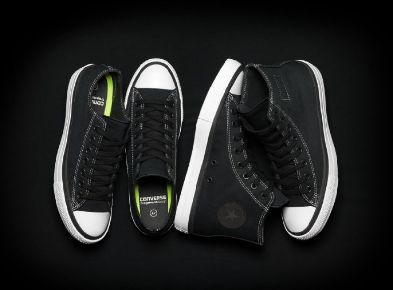 Converse x fragment design Chuck Taylor All Star SE系列,高筒建議售價為NT$ 2,980,低筒建議售價為NT$ 2,780。