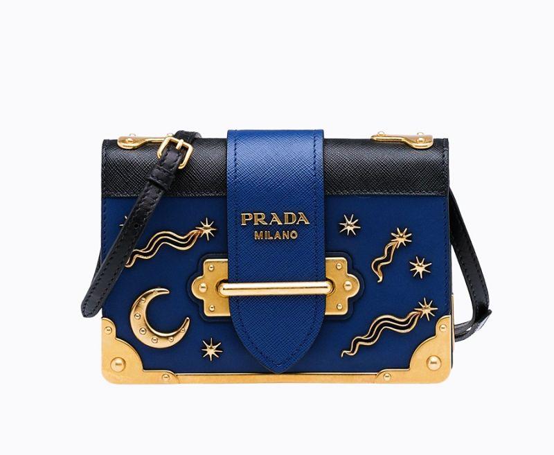 Prada星星月亮裝飾 Cahier 包 $72,500